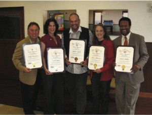 Commendation from the City of Los Angeles, 2012