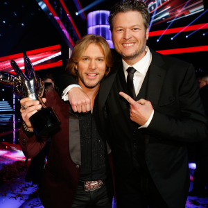 "Craig Wayne Boyd and Blake Shelton of ""The Voice"""