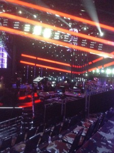"The stage at ""The Voice"""