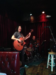 Acoustic Bass Guitar at Columbo's, Eagle Rock -- with Arnie Rios