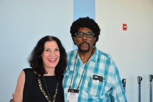 NAMM, Anaheim, 2015 -- with James Gadson