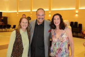 Maria Martinez, Maestro Delbert Taylor, Leslie