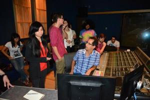 Recording Engineer Buddy Halligan.