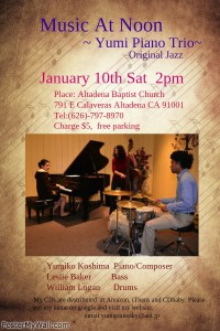 Music At Noon Event Flyer
