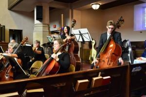 Leslie at Crown City Symphony Concert, Pasadena
