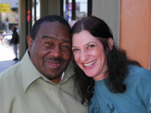 Floyd Dixon and Leslie. Photo by Joe Weinroth.