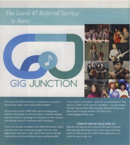 Gig Junction Flyer