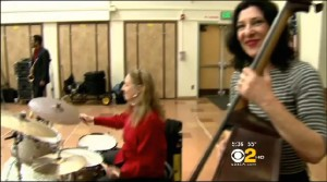 Click me to see the CBS news report on the Jazz in the Schools Program.