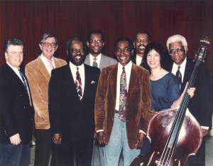 Al Aarons Jazz Caravan with announcer Chuck Niles.
